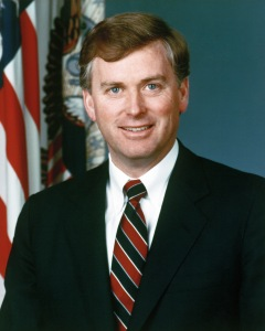 Portrait of DoD Mr. J. Danforth Quayle, Vice President of the United States (U.S. Army Photo) (Released)
