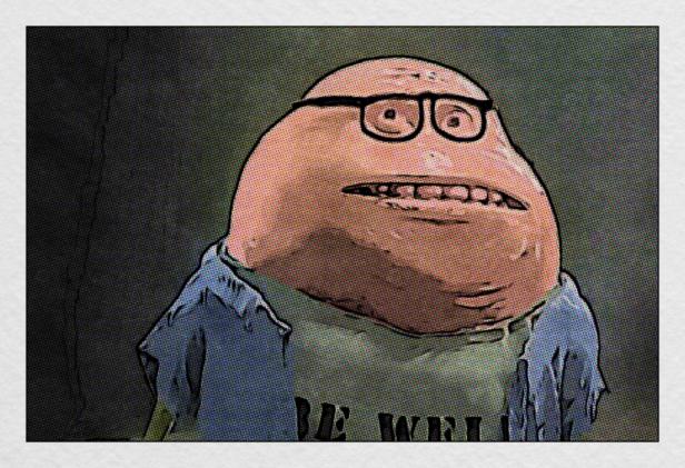 bill cartoon