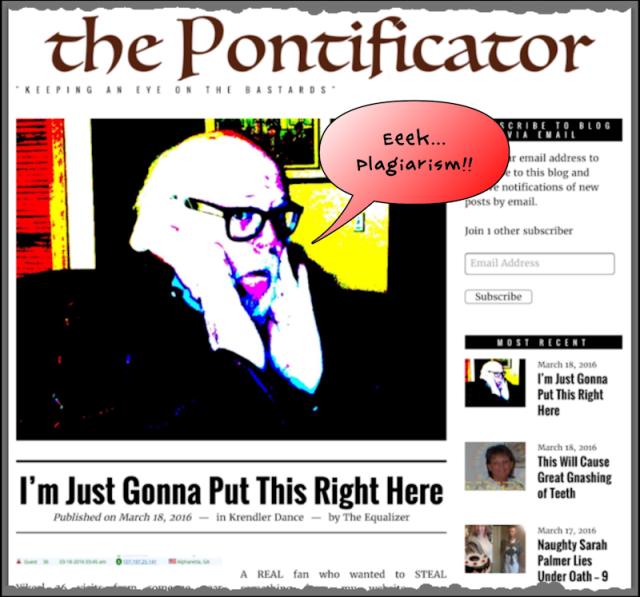 Pontificator Eeek