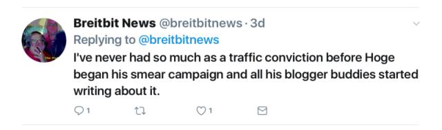 Res Judicata - tweet traffic conviction