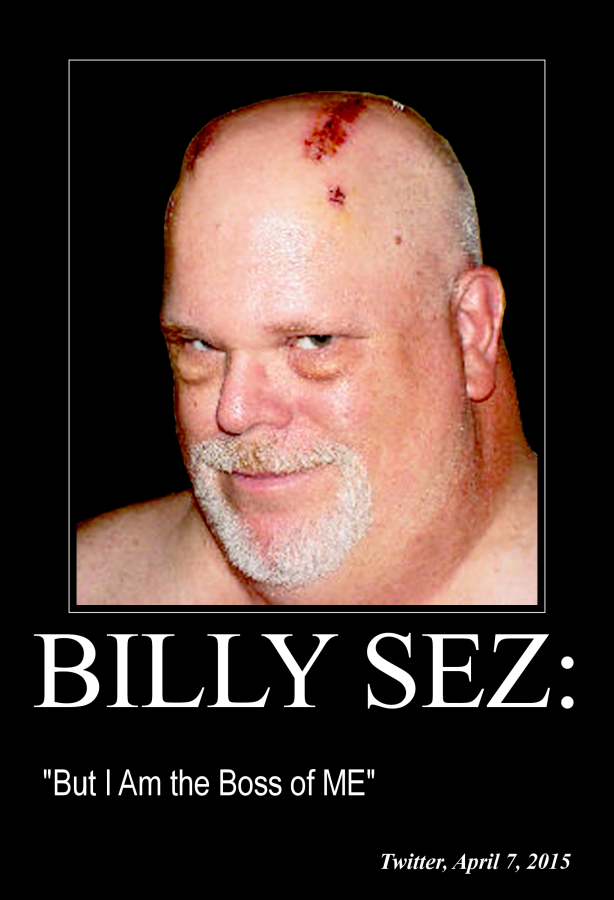 Billy Sez But I Am the Boss 614x900