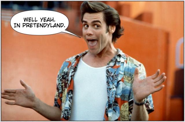 Carrey Yeah in Pretendyland