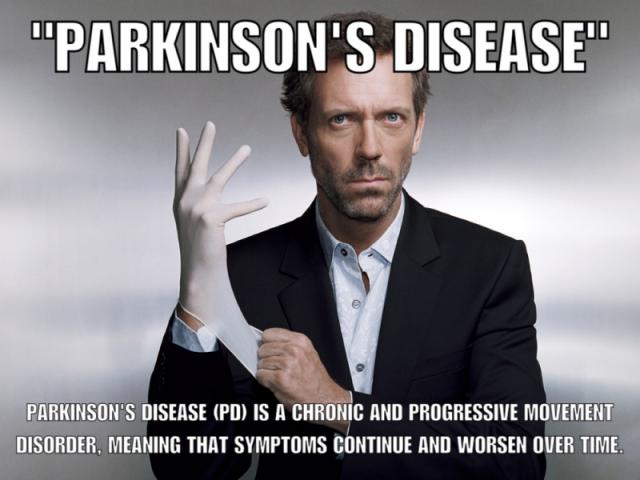 House Parkinson's Disease
