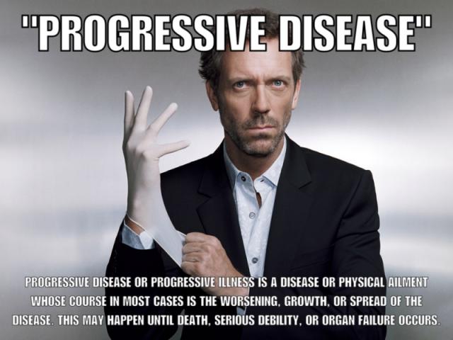 House Progressive Disease