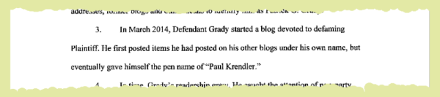 pen name Paul Krendler
